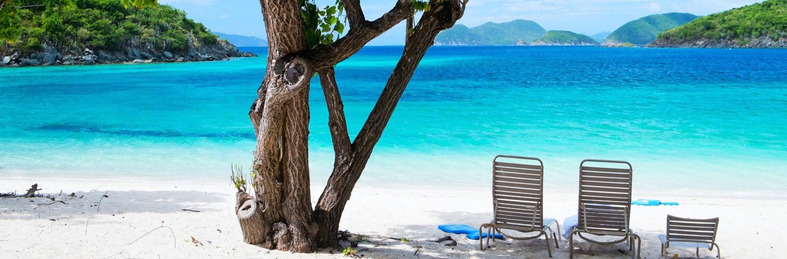 Stränder i US Virgin Islands